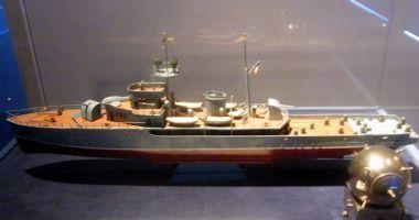 Piesă de colecţie, expusă la Muzeul Marinei
