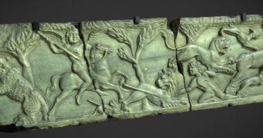 Piesă din secolul al II-lea, reprezentată 3D la Muzeul de Istorie