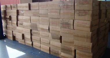 Piese auto, în valoare de 100.000 lei, confiscate în Portul Constanţa