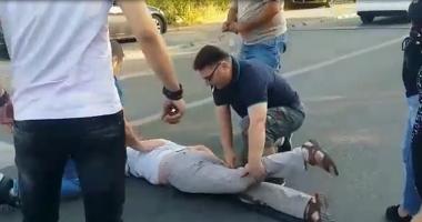 VIDEO / Pieton lovit pe trecerea de pietoni, în Tomis Nord