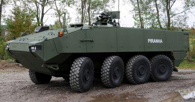 Vin primele transportoare blindate Piranha! Vor intra în dotarea Armatei în acest an