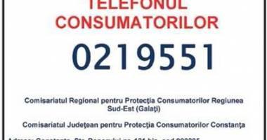 """Placheta """"Telefonul Consumatorilor"""" se modifică"""