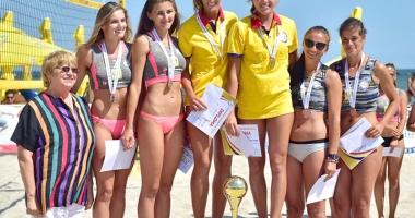 Pe plaja din Mamaia, s-au desemnat campionii naţionali la volei