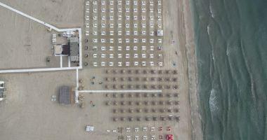 Plajele de pe litoral, monitorizate cu drona