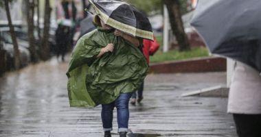 AVERTIZARE NOWCASTING. Cod galben de ploi în județele Constanța și Tulcea