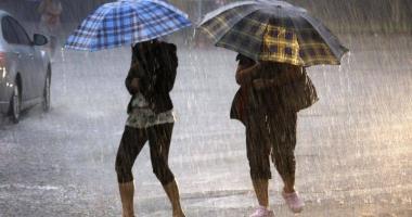 Codul galben de ploi torenţiale la Constanţa, prelungit până la ora 18