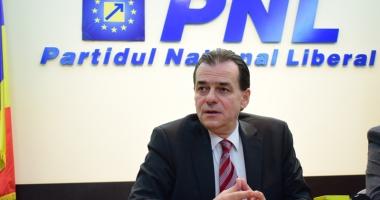 Ludovic Orban: PNL depune o moţiune simplă împotriva ministrului Finanţelor