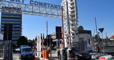 Poarta 1 a Portului Constanța, redeschisă traficului auto