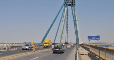 CNADNR a prelungit restricţiile de trafic pe podul de la Agigea