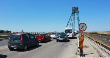 S-a reluat circulația rutieră pe Podul de la Agigea