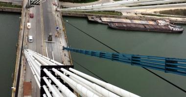 Veşti mari de pe podul Agigea! Din decembrie, se reia circulaţia