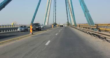 Aten�ie, �oferi! Restric�ii de circula�ie pe podul de la Agigea