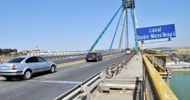 Restricţiile de pe podul Agigea au găurit buzunarele firmelor şi populaţiei
