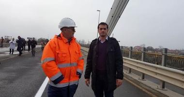 S-a redeschis Podul de la Agigea