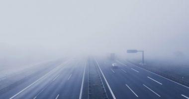 Mai multe accidente s-au produs pe autostrada A3 București - Ploiești din cauza poleiului