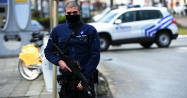 Belgia / Poliția a arestat luni seara un suspect de terorism la Bruxelles