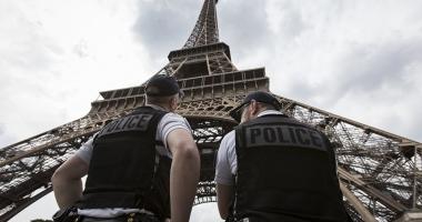 Turnul Eiffel a fost evacuat din cauza unui pachet suspect