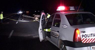 Poliţist de la Serviciul Rutier, lovit în cap de un şofer care efectuase o depăşire neregulamentară