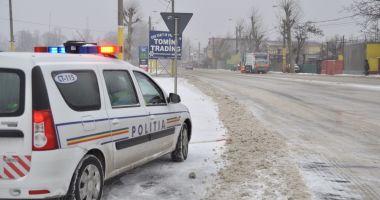 Poliţia Română, la datorie! Recomandări importante pentru şoferi şi pietoni