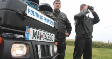 UPDATE - POLI�IST DE FRONTIER�, �MPU�CAT CU ARMA DIN DOTARE