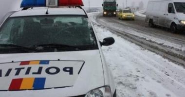 Fost puşcăriaş, prins de poliţişti aproape de comă alcoolică la volan, pe cod portocaliu