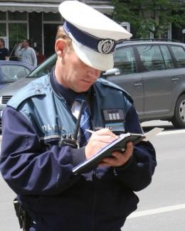 Poliţiştii rutieri au făcut prăpăd