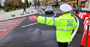 """Foto : Poliţiştii şterg pe jos cu agenţii de la poliţia locală. """"Fac abuz, au ajuns la un tupeu atât de mare"""""""