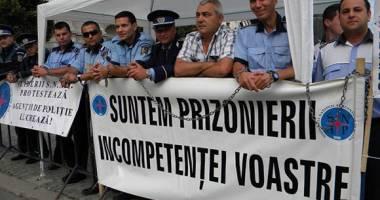 Poliţiştii se pregătesc de proteste
