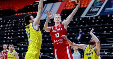 Naţionala masculină de baschet a României, învinsă categoric de echipa Poloniei