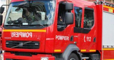 Pompierii ISU Dobrogea, intervenție pe Autostrada Soarelui