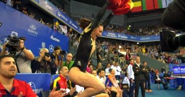 Gimnasta Cătălina Ponor, campioană europeană la bârnă