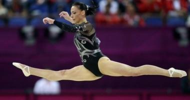Felicitări, Cătălina Ponor! Aur pentru România la Cupa Mondială la Gimnastică Artistică de la Baku