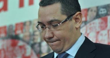 Ponta, supărat foc după căderea guvernului: