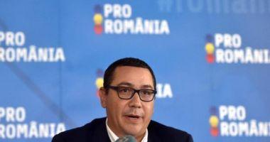Ponta anunță că îi dă afară din partid pe cei care au votat Guvernul Orban: Au ales să lupte împotriva mea și împotriva Pro România