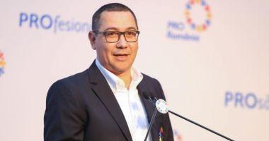 Victor Ponta deschide lista Pro România pentru europarlamentare