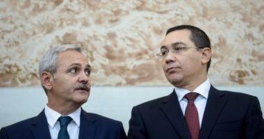 """Victor Ponta: """"Schimbarea domnului Dragnea e ceva inevitabil"""""""