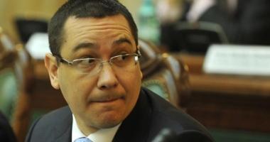Ponta, reacţie la cald după ce Guvernul Grindeanu a picat