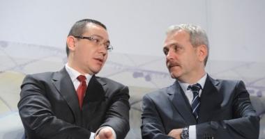 Dragnea către Victor Ponta în Parlament: Eşti nebun, ce ai?