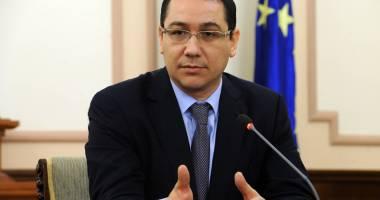 Ponta invită grupurile parlamentare la o discuţie pentru buget