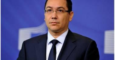 """Ponta: """"Votul Vosganian - o mare greşeală"""""""