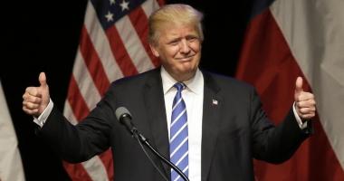 Donald Trump pierde din popularitate în sondajele Gallup