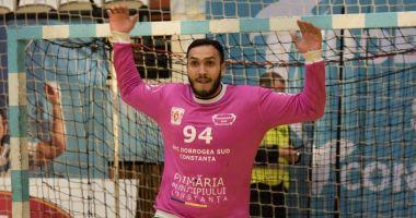 Portarul Ionuţ Iancu a semnat prelungirea contractului cu HC Dobrogea Sud