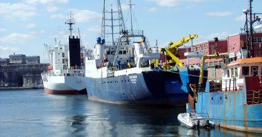 Porturile maritime românești au manipulat cu aproape 8% mai multe mărfuri