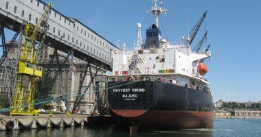 Porturile maritime românești au înregistrat o creștere de 6,0% a traficului de mărfuri