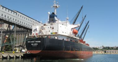 Porturile românești au cea mai mare creștere de trafic de mărfuri de pe piața Mării Negre