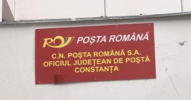Pichetare la Poşta din Constanţa pentru stoparea disponibilizărilor
