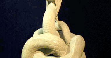 GALERIE FOTO / Povestea Şarpelui Glykon, statuie unică în lume