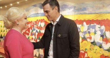 Viorica Dăncilă, întrevedere cu premierul Spaniei. Au discutat despre atragerea investiţiilor spaniole în România