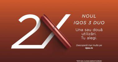 S-a lansat dispozitivul fără fum IQOS 3 DUO