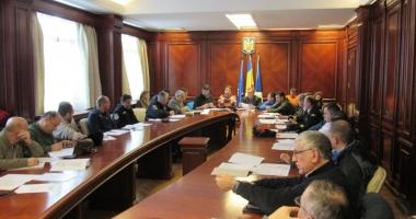 Comitetul pentru Situaţii de Urgenţă, reunit la Prefectură. Care este situaţia